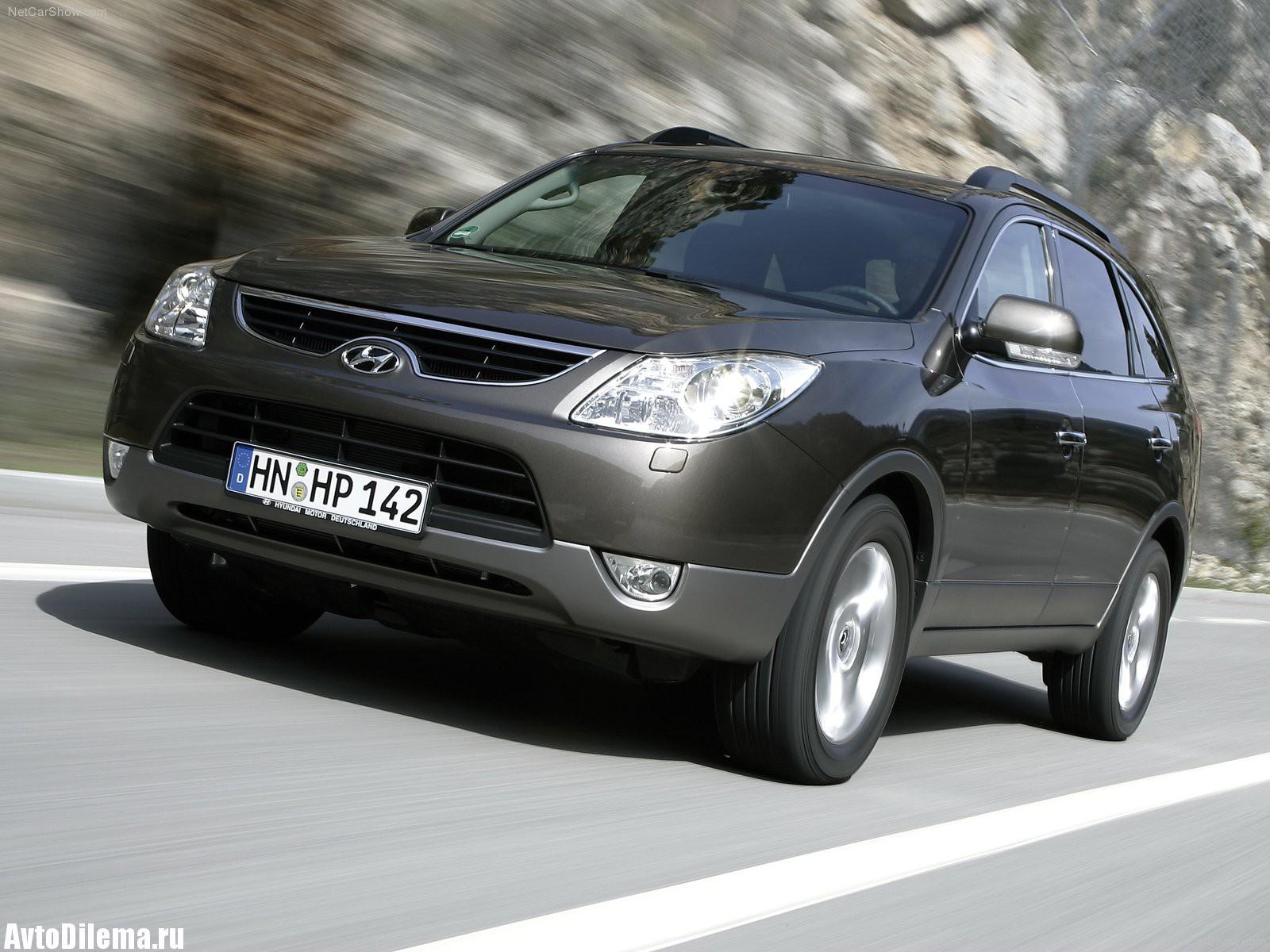 Слабые места Hyundai IX55 (Veracruz)
