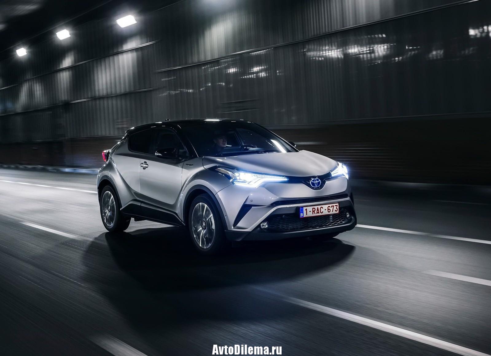 Toyota С-HR — новинка, которую ждут в России.