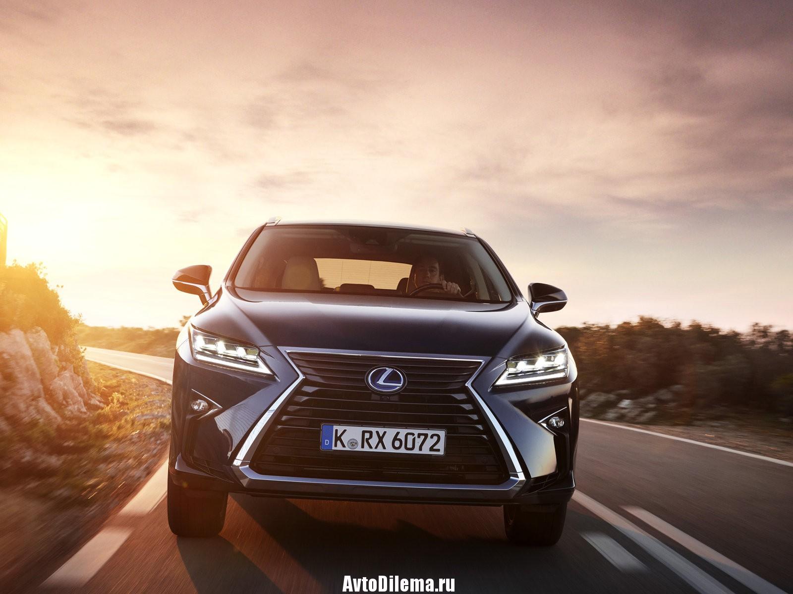 Рассмотрим Lexus RX 2016 года