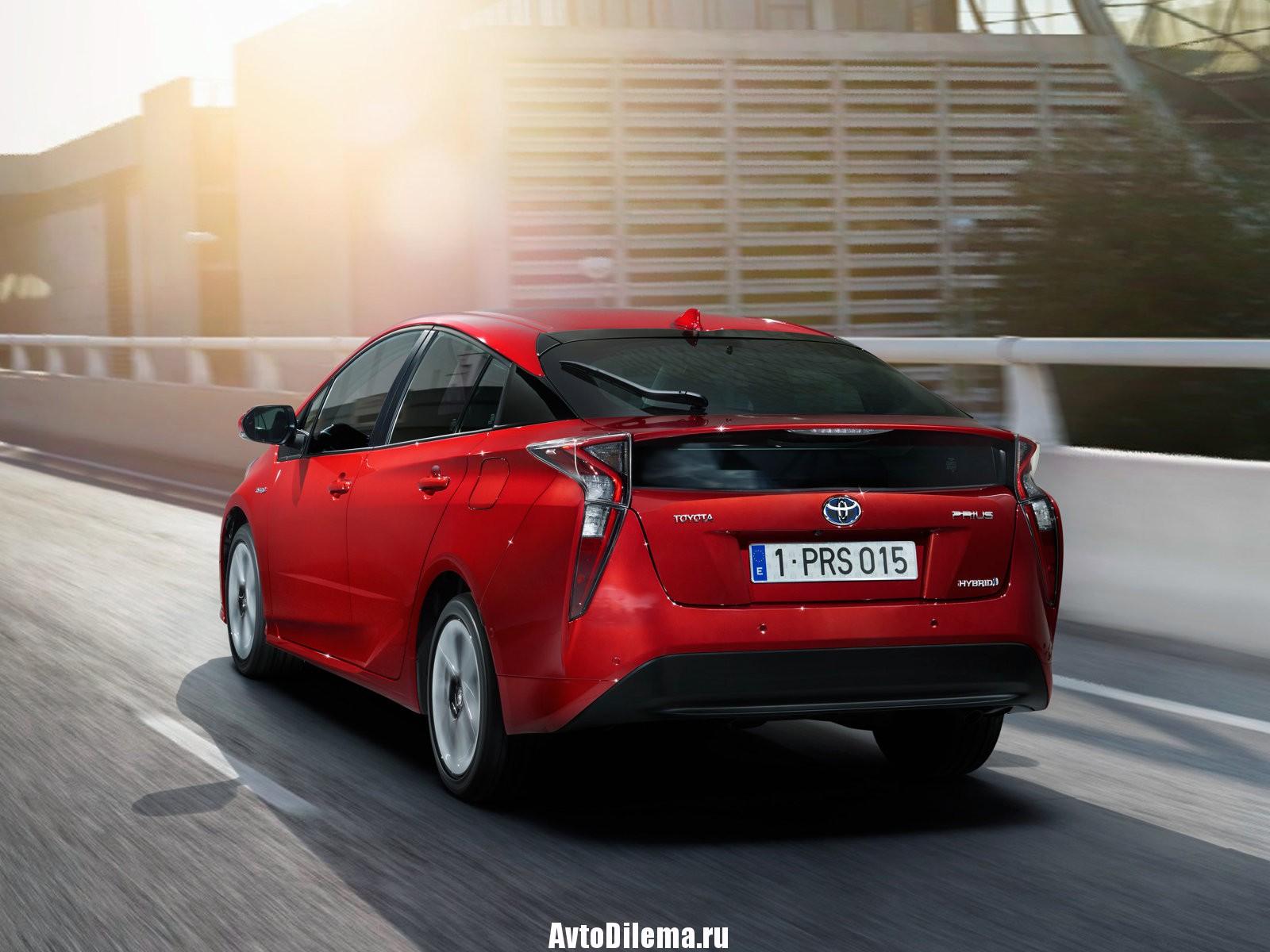 Возвращение — Toyota Prius в РФ.