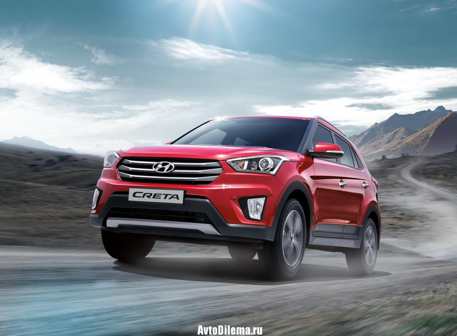 Hyundai Creta — уже год в России