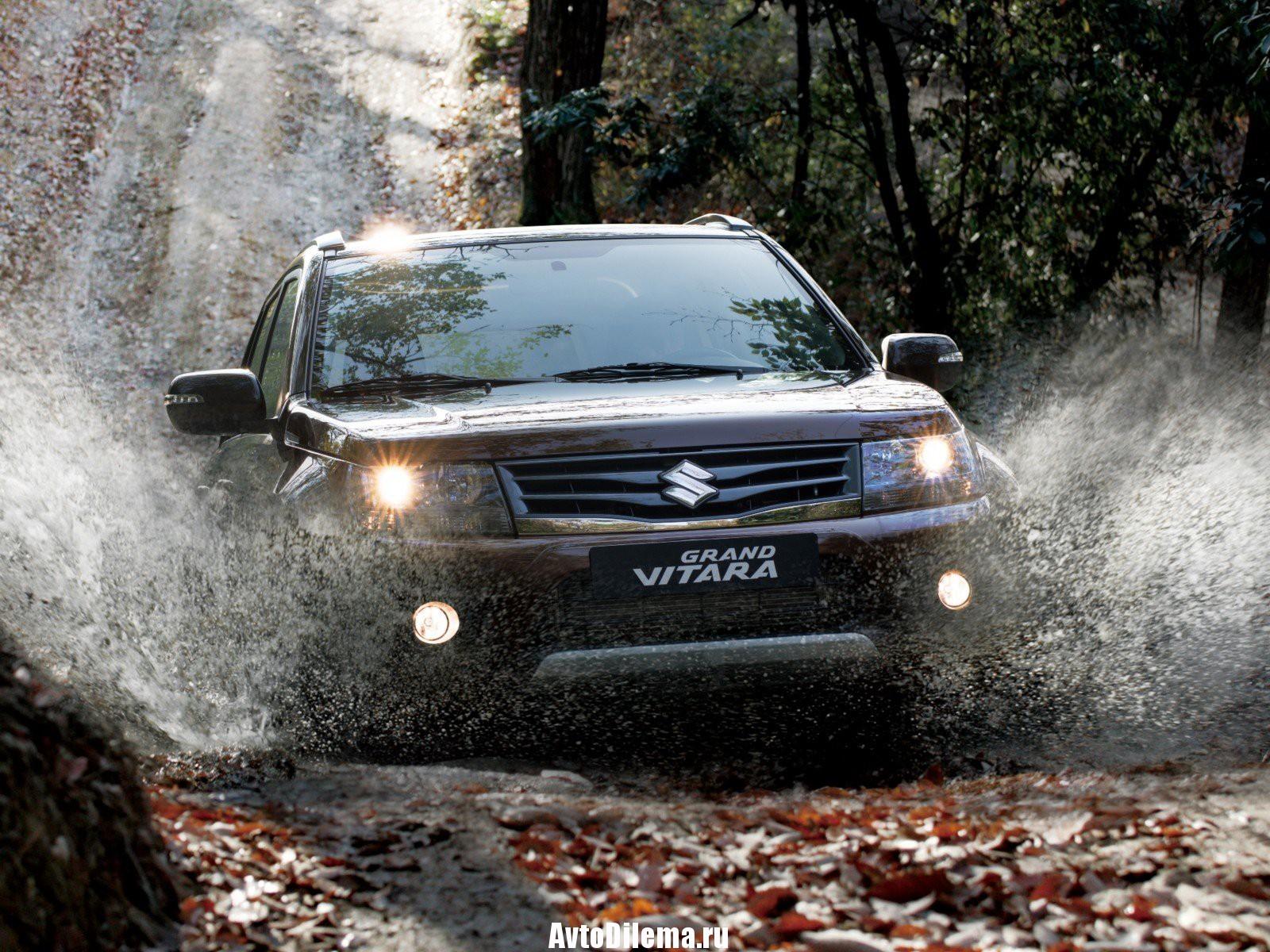 Проблемы «паркетного джипа» — Suzuki Grand Vitara
