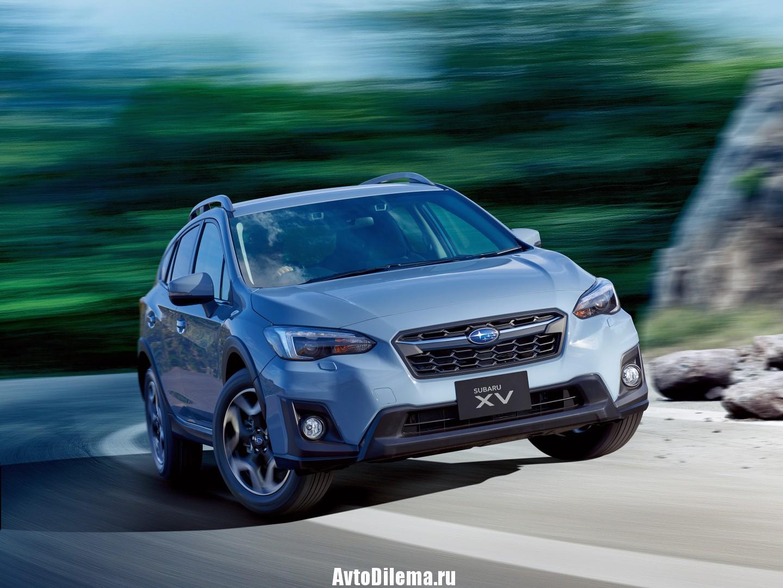 Subaru XV — больше чем Импреза