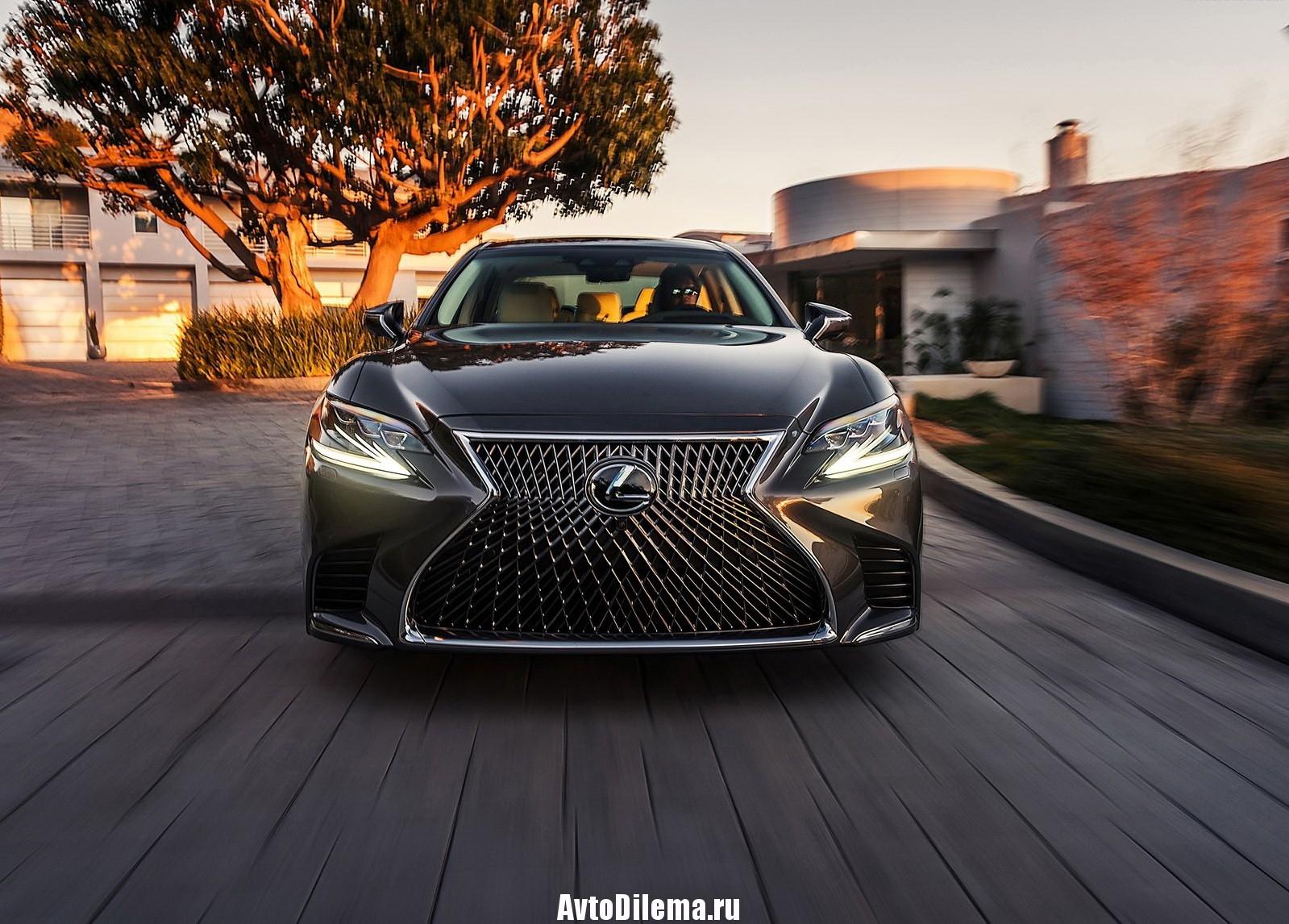 Новый Lexus LS 2017