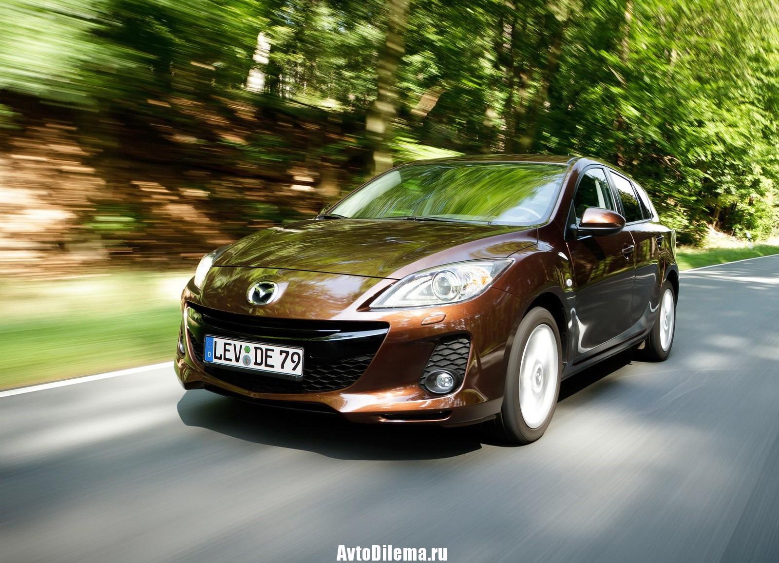 Надежность Mazda 3 BL