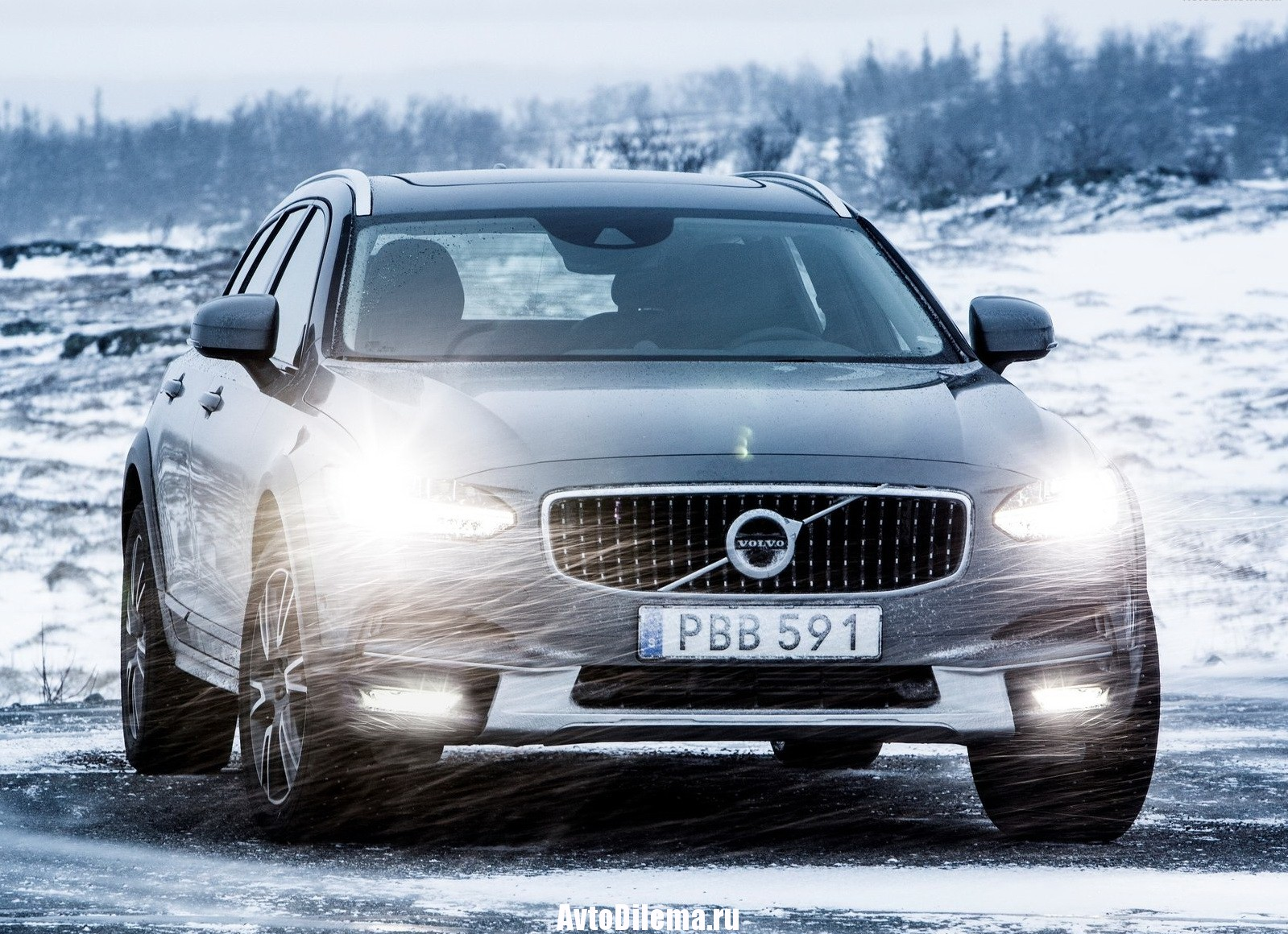 Volvo V90 Cross Country — наследник XC70