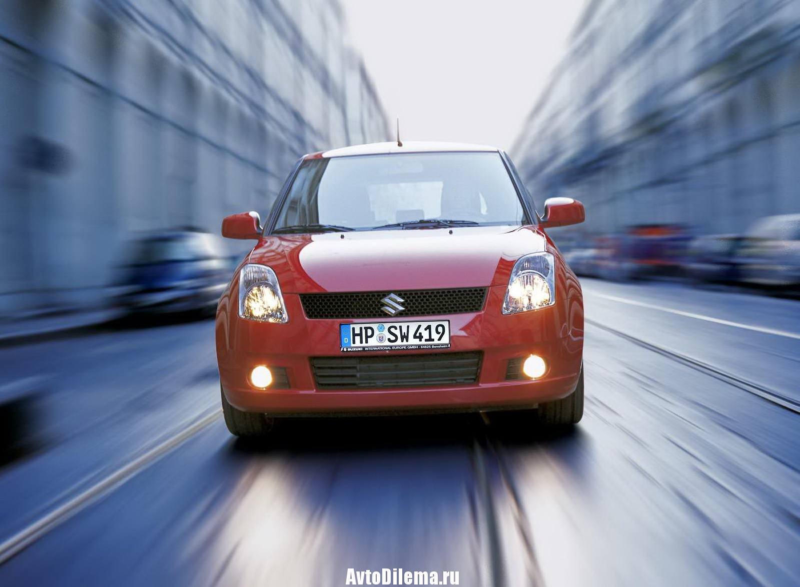 Ищем болячки у Suzuki Swift III
