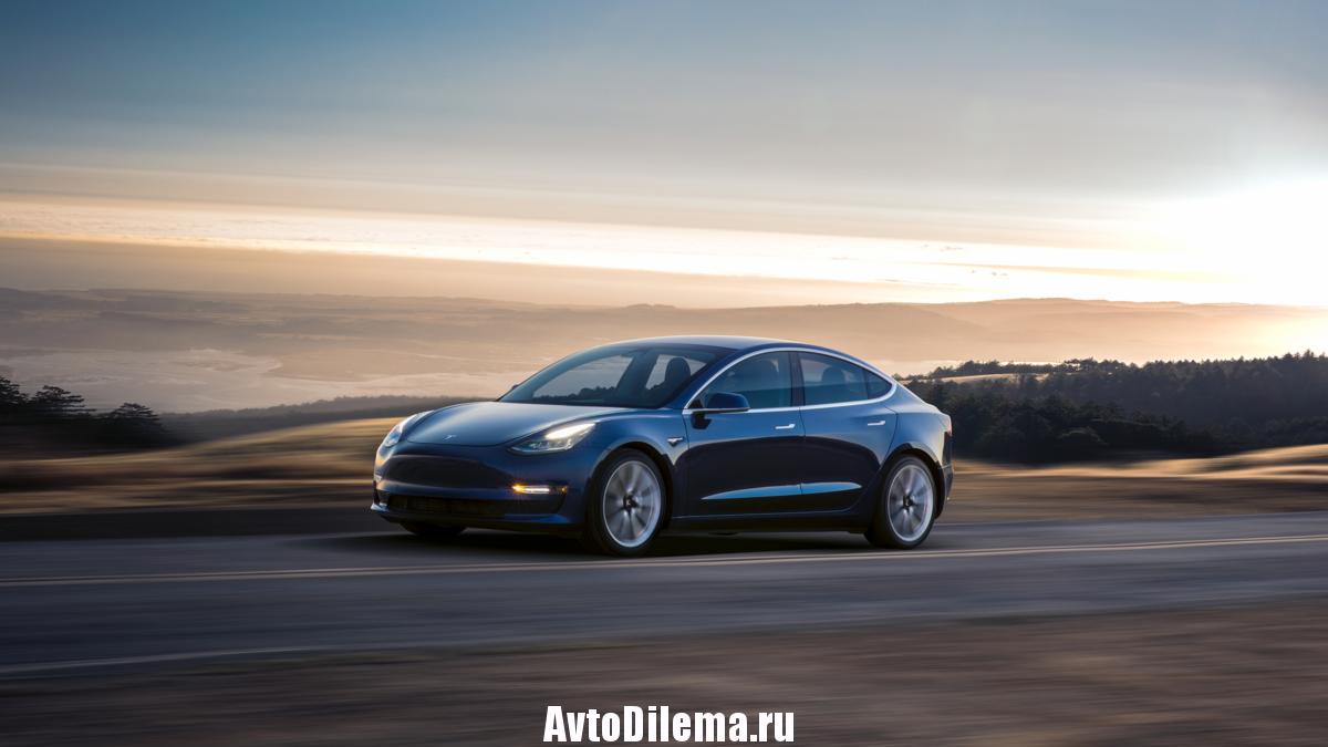 Tesla Model 3 — доступная «электричка» ?