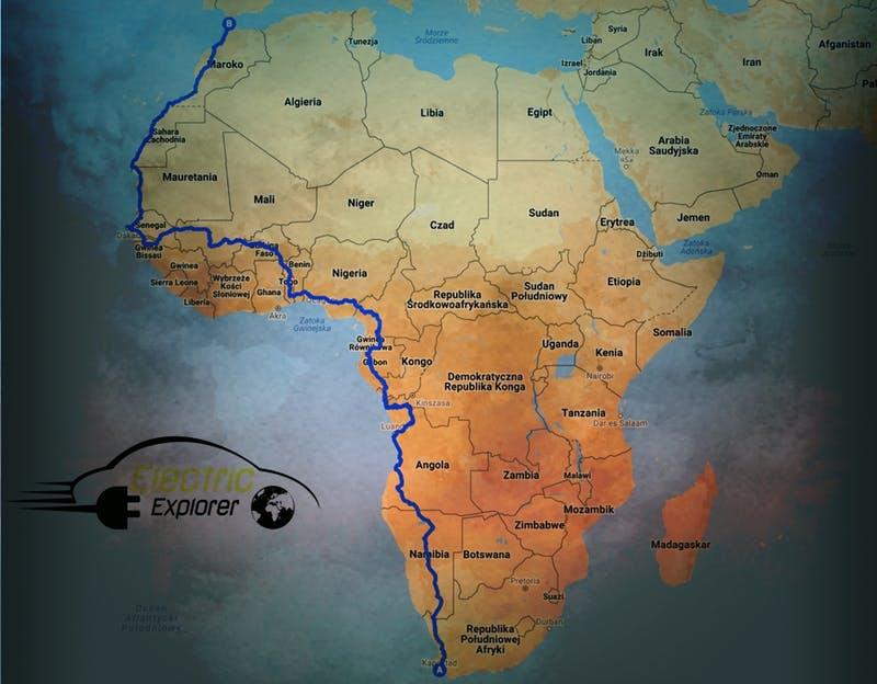 Путешествие по Африке на электромобиле-часть 2.