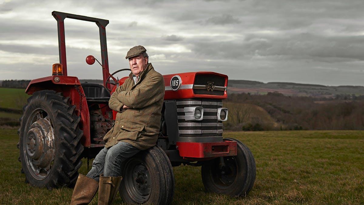У Джереми Кларксона есть собственная ферма, и он любит птиц.