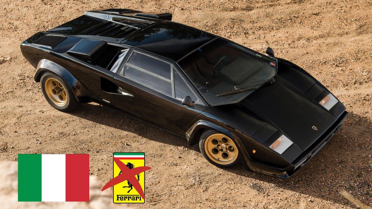 20 самых красивых итальянских автомобилей (не считая Ferrari).