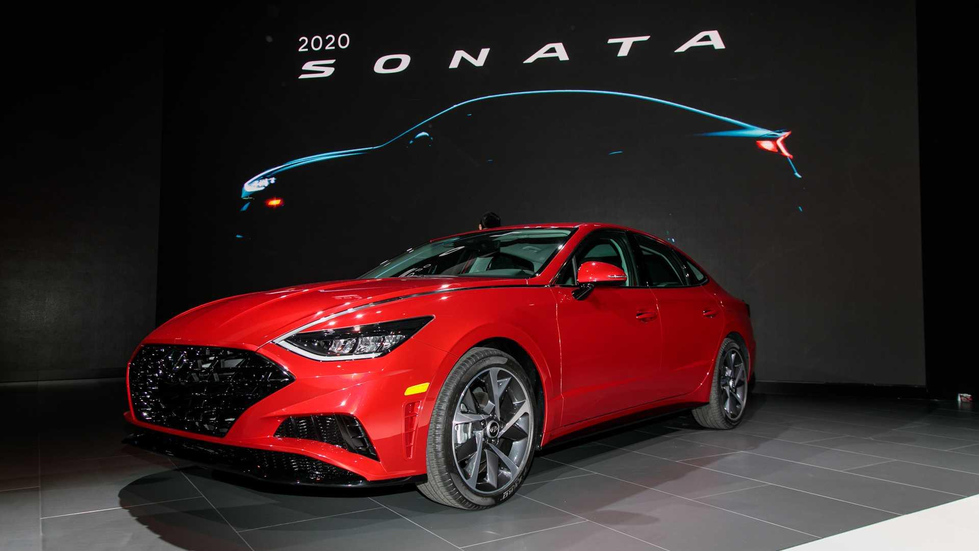 Новый Hyundai Sonata дебютировал в Нью-Йорке