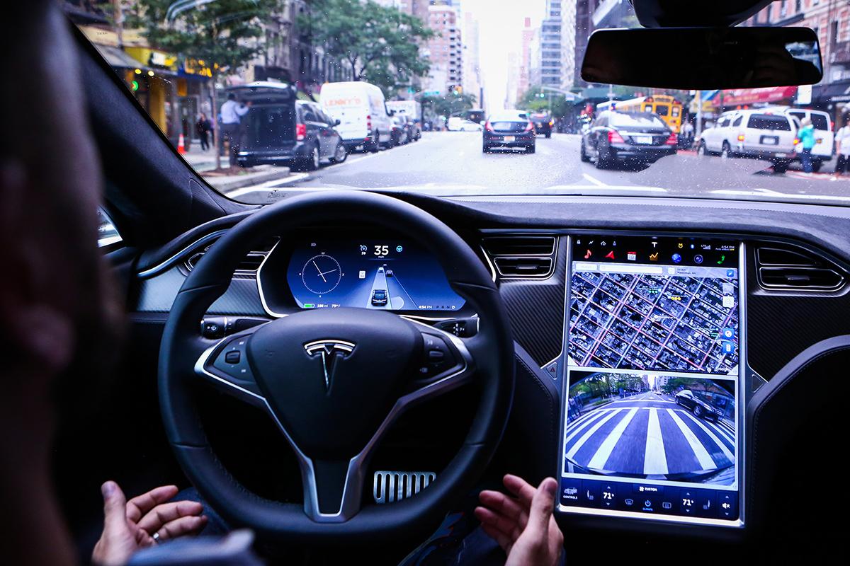 Новый «автопилот» от Теслы.