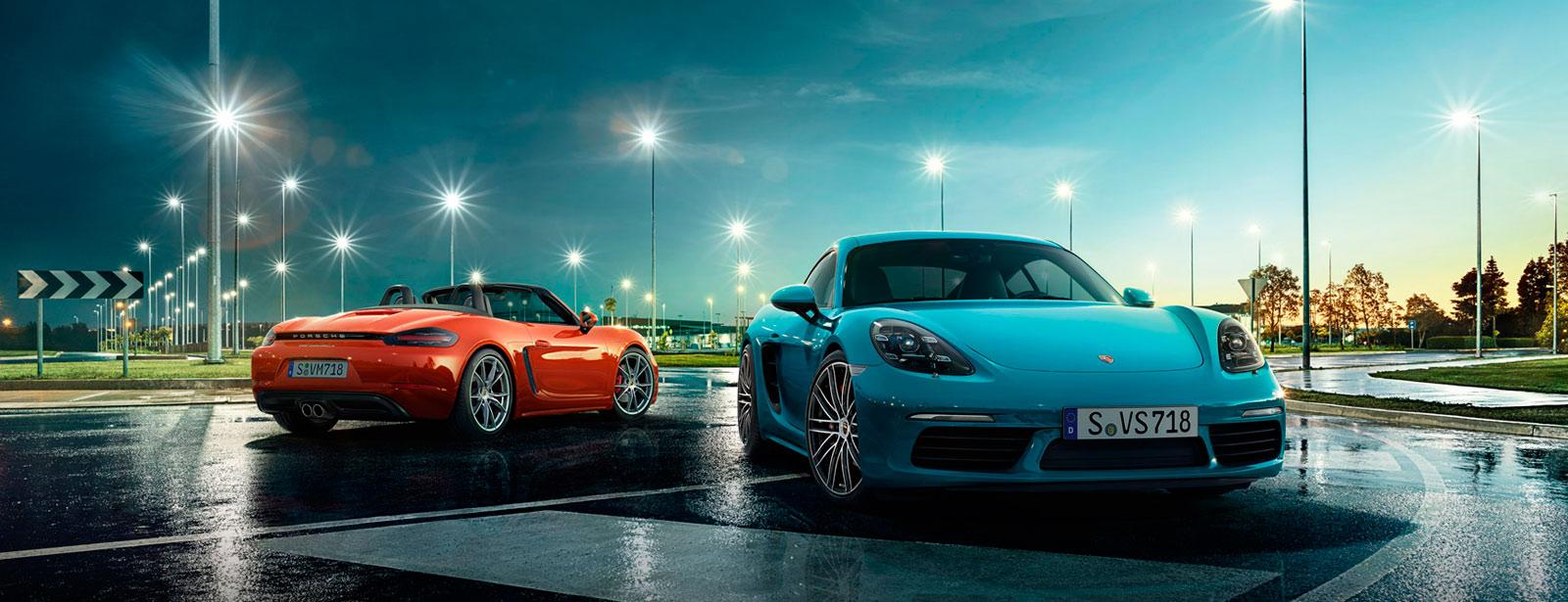 Porsche Cayman и Boxster станут гибридами и электромобилями.