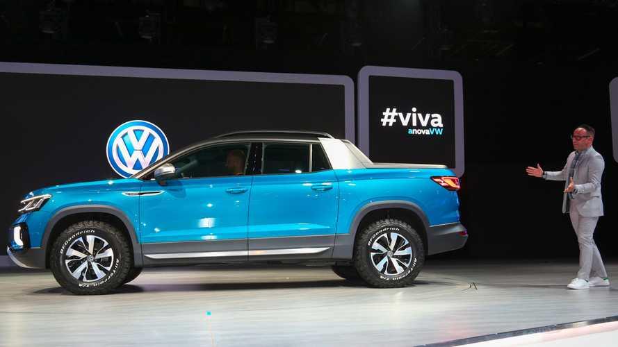 Volkswagen Tarok или «Тинуан-пикап» не будет в США?